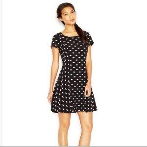 Modcloth Maison Jules NWOT Black & White Dress M